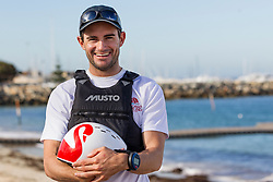3rd March 2016. Fremantle, WA. World Match Racing Tour. Keith Swinton, Black Swan Racing.