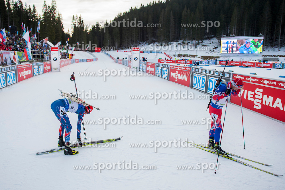 Finish during Men 10 km Sprint at day 1 of IBU Biathlon World Cup 2015/16 Pokljuka, on December 17, 2015 in Rudno polje, Pokljuka, Slovenia. Photo by Urban Urbanc / Sportida