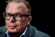 DEN HAAG - lijsttrekker van de partij Voor Nederland  portret van Jan Roos lijstrekker van VNL is een Nederlands politicus, columnist en journalist. COPYRIGHT ROBIN UTRECHT