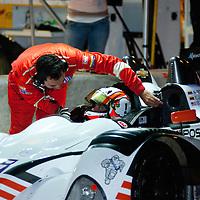 #06 CORE Autosport Oreca FLM09: E.J. Viso, Alex Papow, Burt Friselle
