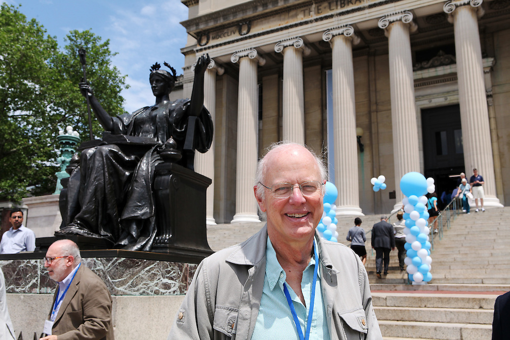 """Alan Jacobs '63 GSAS '67 MFA '04..""""Never run for the bus. There's always another one coming."""""""
