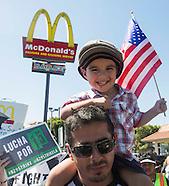 Fast Food Workers Begin One-Day Strike