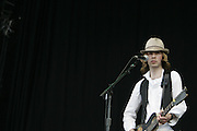 June 17, 2006; Manchester, TN.  2006 Bonnaroo Music Festival. Beck performs at Bonnaroo 2006.  Photo by Bryan Rinnert/3sight Photogrpahy