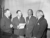 1959 - C.C. Wakefield (Castrol) lecture at Bolton Street Technical School.