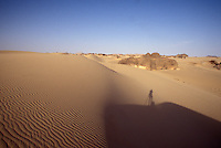 Self-portrait, Algerian Sahara