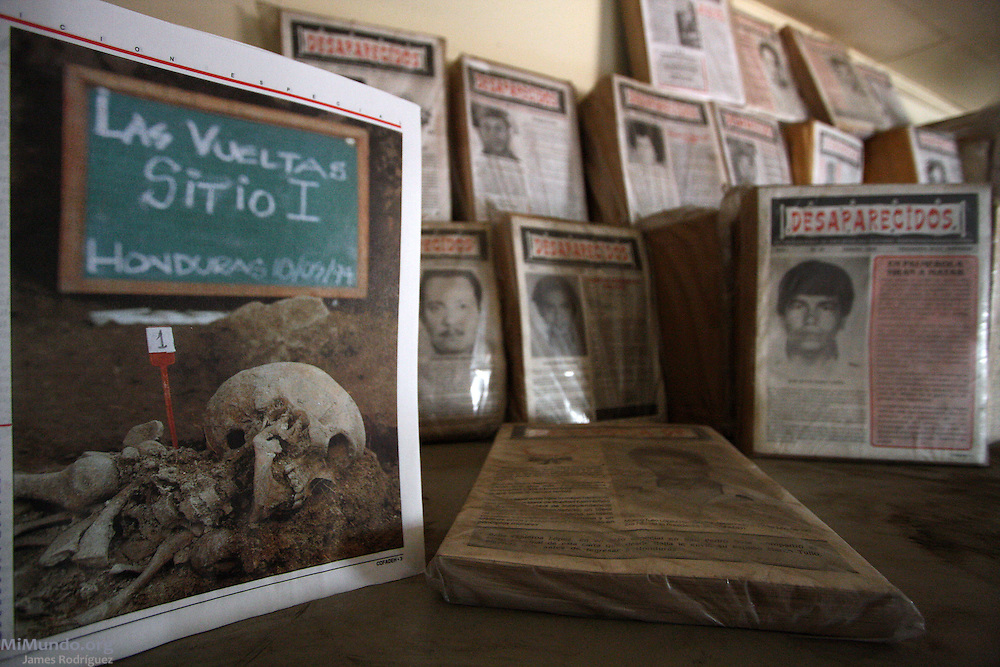 Copies of the Desaparecidos bulletin published by the Committee of Relatives of the Detained-Disappeared of Honduras (COFADEH), July 2009.