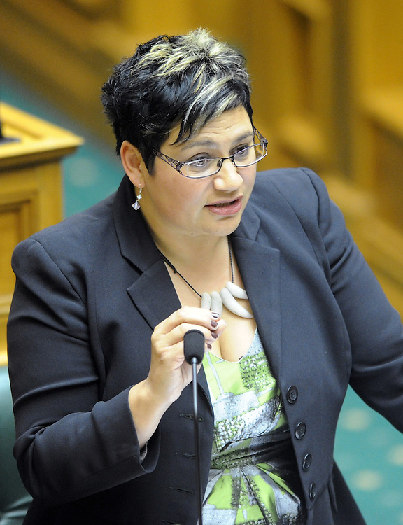 Green Party co-leader Metiria Turei at question time, Parliament, Wellington, New Zealand, Tuesday, December 11, 2012. Credit:SNPA / Ross Setford