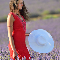 French woman,,Vaucluse,Provence,France,Europe<br /> Model release 0351