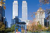 STOCK: Riverside Boulevard: Waterside Park