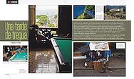 Feature on daily life between violence  in San Salvador, El Salvador. Domingo magazine