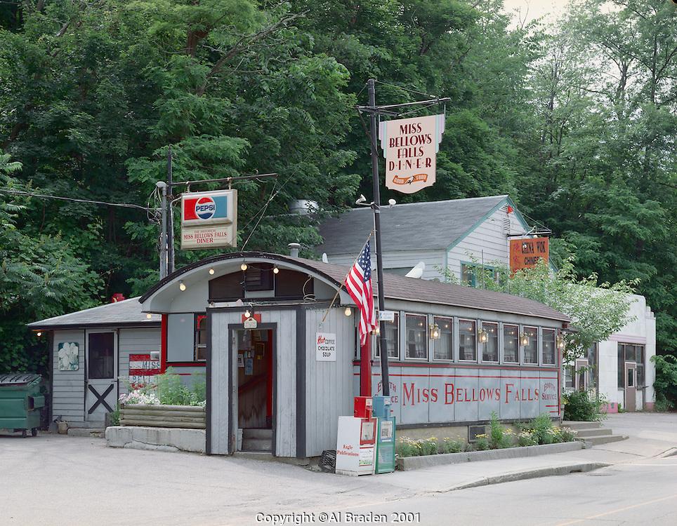Miss Bellows Falls Diner, Bellows Falls, VT