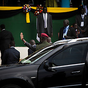South Sudan President arrives in a heavy military convoy. <br /> <br /> As South Sudan is about to celebrate its second anniversary of its independence, the national kickboxing team organized its second international competition with kick boxer coming from the neighboring countries and Italy.