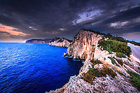 Shot on the cliffs at the southern tip of Lefkada, Greece