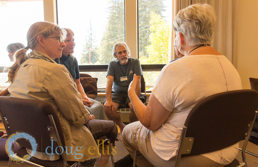 Meditation retreat at Mount Madonna with Craig Hamilton.