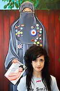 Artist Sarah Maple exhibiting at saLon..Pics: Jonathan Goldberg..