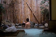 Nikkotei onsen (hot springs).<br /> Atami is a resort town in the eastern end of Shizuoka prefecture.