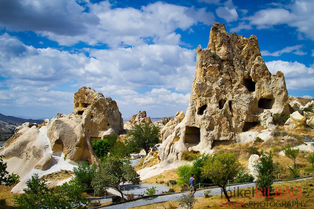 Goreme National Park and the Rock Sites of Cappadocia. Goreme. Cappadocia Region. Nevsehir province. Turkey