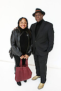 January 18, 2013- Paris, France-(L-R) Deb Willis, Ph.d/Chair, Photography Dept, NYU/Author/Art Educator and Hank Willis, Sr attend the Black Portraiture(s): The Black Body in the West Conference Day 2 held at University Paris Diderot-Paris 7 on January 18, 2013 in Paris, France. The Black Body in the West, the fifth in a series of conferences organized by Harvard University and NYU since 2004 explores ideas of the production of self-representation, desire and the exchange gaze from the 19th century to the present day in fashion, film, art and the archives. (Terrence Jennings/Polaris)