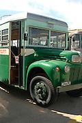 vintage bus, Transport Museum, Israel,