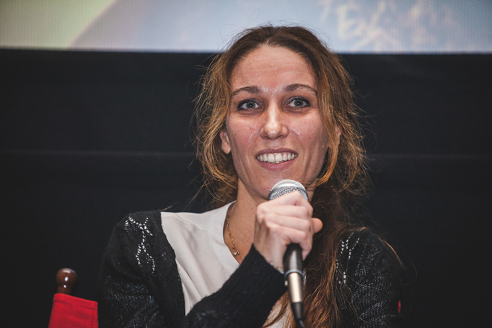 "Italian-French filmmaker, Giulia Amati (""Shashamane"") during during The Royal African Society's Annual Film Festival 2016. London, Tuesday 1 November 2016. (Photos/Ivan Gonzalez)"