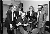1989 - First Irish Bone Marrow Register.  (R97)