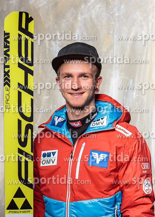 08.10.2016, Olympia Eisstadion, Innsbruck, AUT, OeSV Einkleidung Winterkollektion, Portraits 2016, im Bild Philipp Haagen, Skisprung Herren // during the Outfitting of the Ski Austria Winter Collection and official Portrait Photoshooting at the Olympia Eisstadion in Innsbruck, Austria on 2016/10/08. EXPA Pictures © 2016, PhotoCredit: EXPA/ JFK