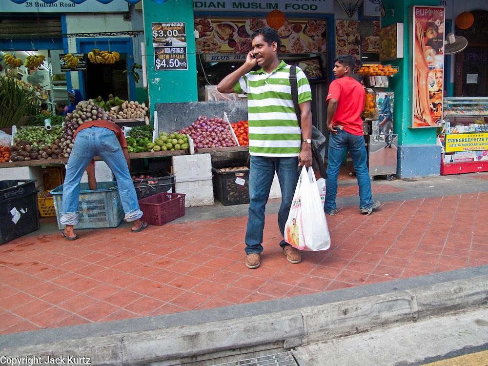 Apr. 28 -- SINGAPORE:  Street life in the Little India neighborhood of Singapore.     PHOTO BY JACK KURTZ