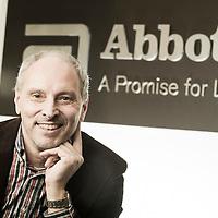 Wavre, Belgium 18 November 2014<br /> Portrait of Patrick Borghgraef - Value Expansion Representative, Abbott.<br /> Photo: Ezequiel Scagnetti