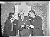 1960  - W.D. & H.O. Wills and Gael Linn press conference on new collaboration at the Hibernian Hotel