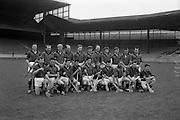 13/09/1964<br /> 09/13/1964<br /> 13 September 1964<br /> Junior Hurling Final: Kerry v Down at Croke Park, Dublin. <br /> Down team.