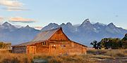 Mormon Row Barn, Jackson Hole, Wyoming