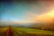 Wolken und Fr&uuml;hnebel, der &uuml;ber Felder zieht.<br /> Untenrohleder, Wuppertal<br /> <br /> http://society6.com/product/dReamLand-KYM_Print
