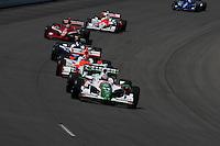 Tony Kanaan, Iowa Corn Indy 250, Iowa Speedway, Newton, IA USA 22/6/08,