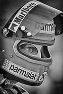 An. Unstoppable. Man.<br /> <br /> On August 1, 1976, World Champion Niki Lauda survived the horrific accident and resultant fire at the Nurburging&hellip; and 43 days later, through tenacity, resolve and sheer heart, he finished fourth at Monza. <br /> <br /> He is seen here in 1978, now driving for Brabham, and having lost none of his single-minded desire to win.