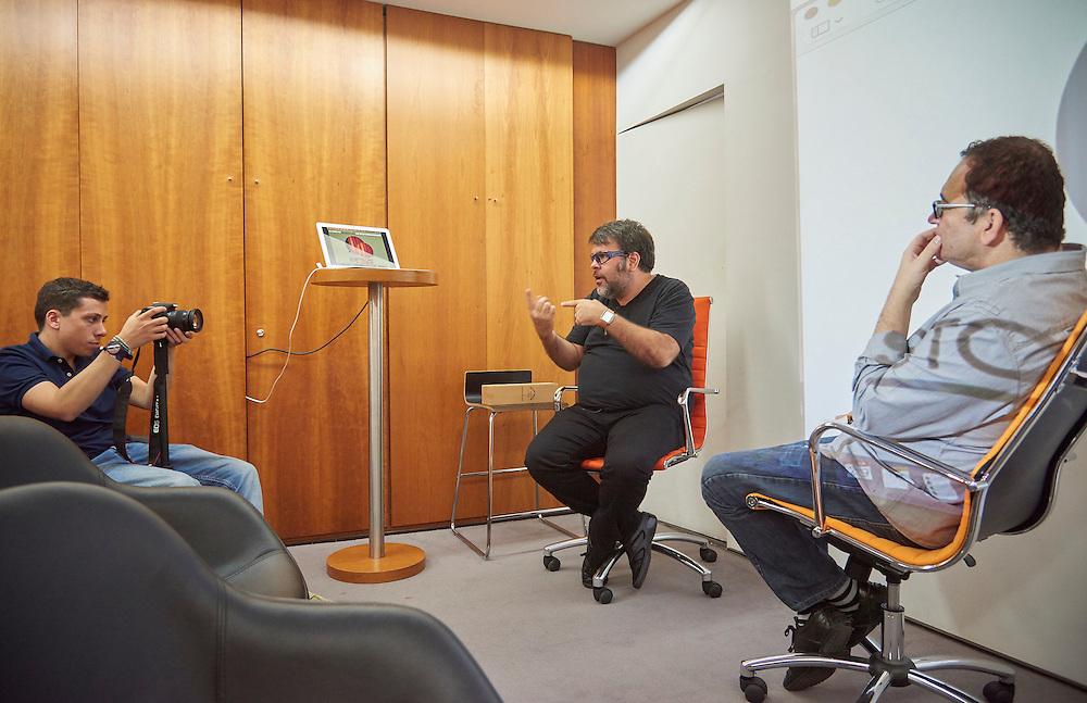 Lisboa, 29/06/2016 - O publicit&aacute;rio brasileiro PJ Pereira em Lisboa para a apresenta&ccedil;&atilde;o de um livro da sua s&eacute;rie &quot;Deuses de Dois Mundos&quot;<br /> (Paulo Alexandrino / Global Imagens)
