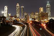 American Nightscapes / Atlanta<br /> <br /> Atlanta, Georgia, 2014