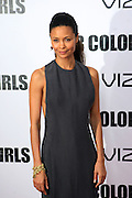 25 October 2010- New York, NY- Thandie Newton at Tyler Perry's World Premiere of the Film 'For Colored Girls ' an Adaptation of Ntozake Shange's play ' For Colored Girls Who Have Considered Suicide When the Rainbow Is Enuf.' held at the Zeigfeld Theater on October 25, 2010 in New York City.