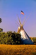 Tipi, Crow Fair, Crow Indian Reservation, Montana