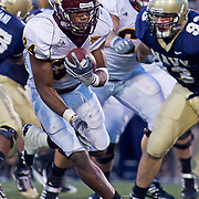 Central Michigan RB (#34) Zurlon Tipton ran for a career-high 62 yards and two touchdowns. It was his first career multi-touchdown game at Marine Corps Memorial Stadium in Annapolis Maryland...Navy improves to 7-3, Navy will return home November 20 to face Arkansas State.