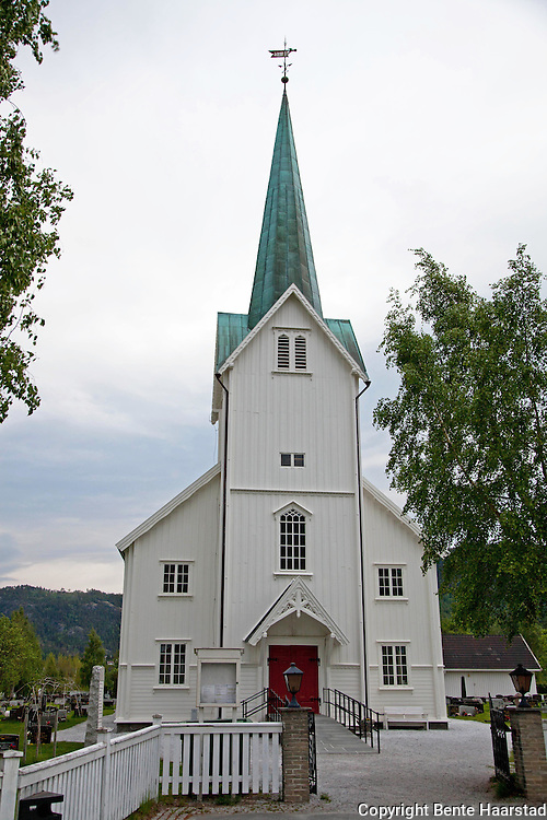 The church in Hommelvik, in Malvik outside Trondheim, Norway. The building is made of wood, and it has 360 seats. Hommelvik kirke er en langkirke fra 1886 i Malvik kommune, S&oslash;r-Tr&oslash;ndelag.<br /> <br /> Byggverket er i tre og har 360 plasser.