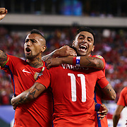 SOCCER 2016 - COPA AMERICA CENTENARIO - Jun 14 - Chile defeats Panama 4-2