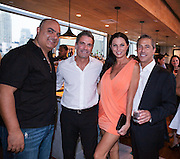 Mark Leder, Sun Capital Partners, hosts a cocktail party at Monarch Rooftop Lounge in New York on August 21, 2013