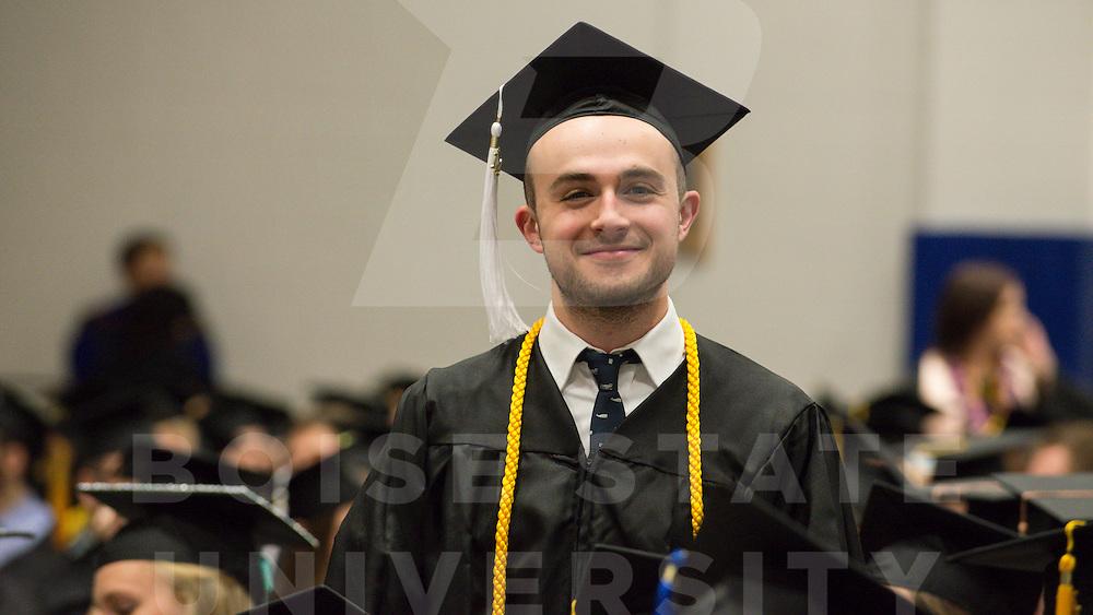 Winter Commencement, Graduation, Carrie Quinney photo