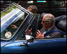 JUN 27 2014 Prince Charles Drives through London