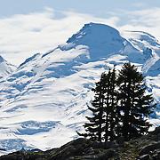 Mount Baker (10,781 feet), Mount Baker Wilderness, North Cascades mountains, Washington