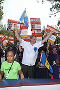 Councilman Bill de Blasio at the 42nd Annual West Indian Day Carnival along Eastern Parkway on September 7, 2009 in Brooklyn, NY