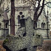 Churches - graveyards