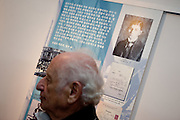 Czech writer Arnost Lustig visiting for the first time South Korea. Lustig is a Czech Jewish author of novels, short stories, plays, and screenplays whose works have often involved the Holocaust. South Korea, Republic of Korea, KOR, 14th of September 2010.