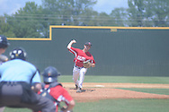 The Dealers' Scott Weathersby pitches in Cotton States League baseball action in New Albany, Miss. on Sunday, July 15, 2012.