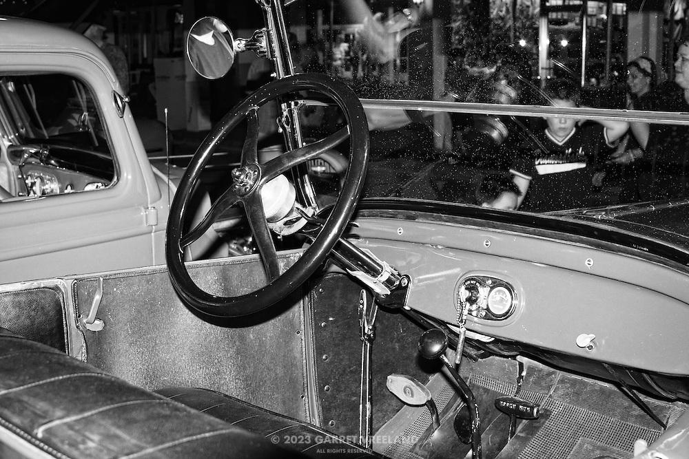 Model T dashboard.